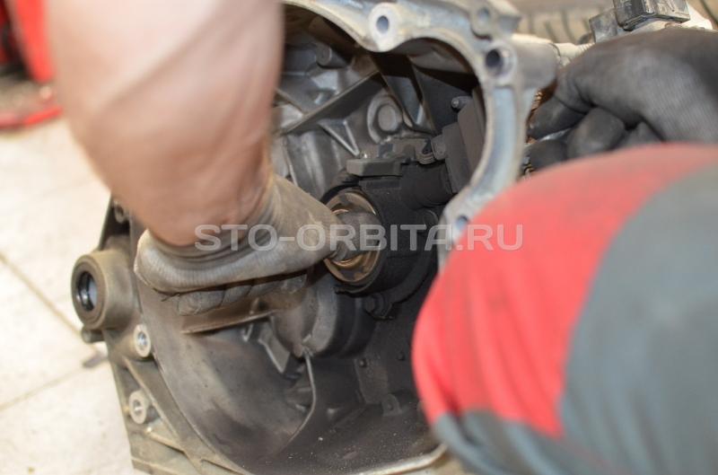 Пошаговое снятие двигателя