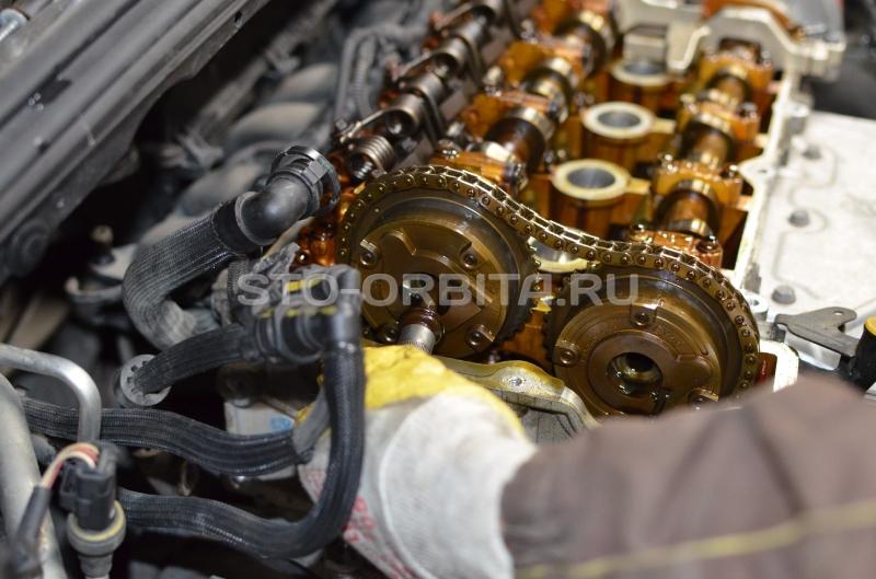 Замена цепи ГРМ на двигателе ЕР6 Пежо 308 - цена и фото работ